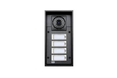 2N Helios IP Force - 4 кнопки вызова & камера & 10Вт динамик