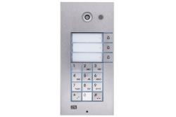 2N® Helios IP Vario - 3 кнопки вызова + клавиатура + камера