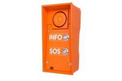 2N Helios IP Safety - 2 кнопки вызова & 10Вт динамик (INFO/SOS)